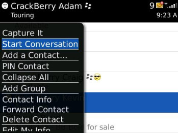BlackBerry Messenger aka BBM