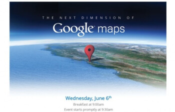 "The ""next dimension"" of Google Maps is going to be unveiled on June 6th"
