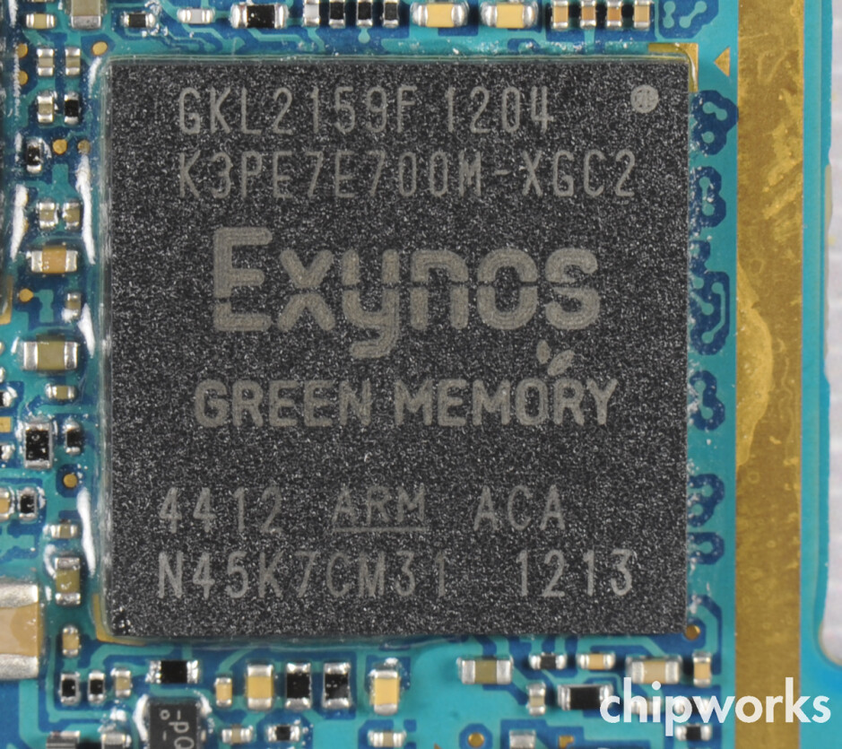 Inside the GT-i9300, the quad-core 1.4 GHz Samsung Exynos 4412 - Samsung Galaxy S III torn down, has same camera sensor as Apple iPhone 4S