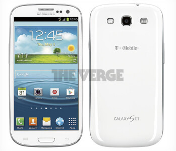 The T-Mobile version of the Samsung Galaxy S III compared to the international variant (R)