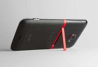 The telltale red kickstand  - HTC EVO 4G LTE officialy launched by Sprint, kickstand and all