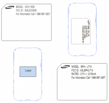 Verizon (SCH-i535) and Sprint (SPH-L710) have seen their versions of the Samsung Galaxy S III visit the FCC