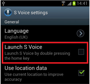 Disabling the double tap option for S Voice allows faster home button response