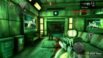 Dead Trigger is optimized for Tegra 3 devices