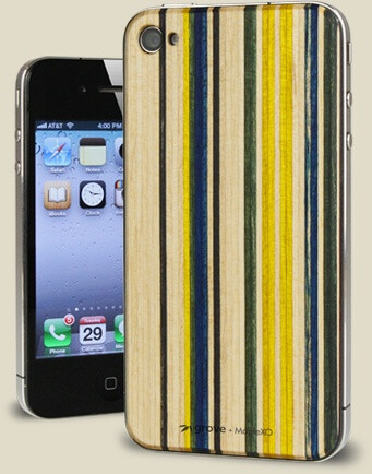 Recycled skateboard waste turns into a beautiful iPhone accessory