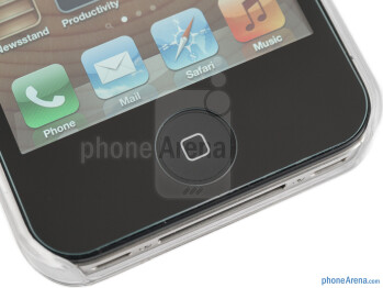 The Ultra Glass screen protector allows a generic protective case to be used