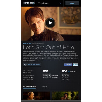 HBO Go makes its Android tablet debut on the Kindle Fire
