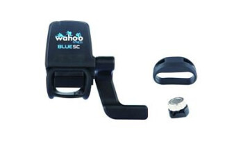 Wahoo Fitness Blue SC provides speed and cadence data accuracy to the iPhone 4S