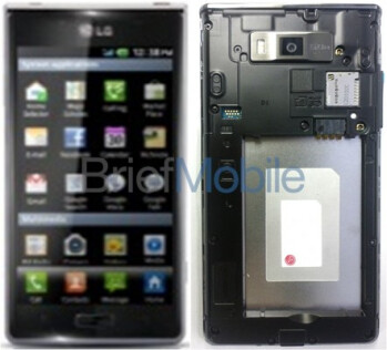Photo leak shows LG LS730 �Snapshot�