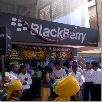 BlackBerry has opened its third store in Indonesia