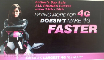 Leaked ad shows T-Mobile's Father's Day Sale for next week