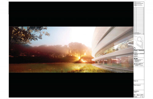 Apple's new campus renderings