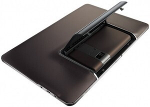 Insert the Padfone into the Station dock to turn it into a tablet