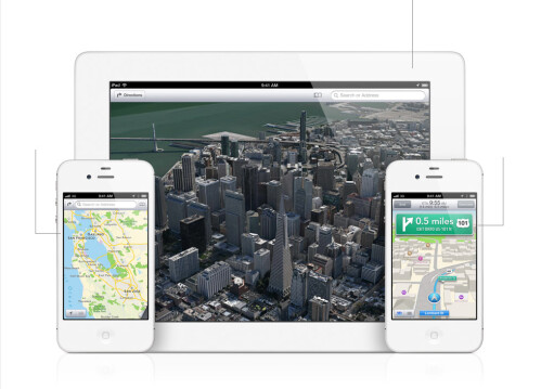 Apple replaces Google for its own Maps app with 3D view and navigation