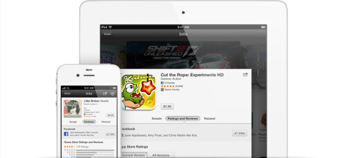 Facebook now plays well with the App Store