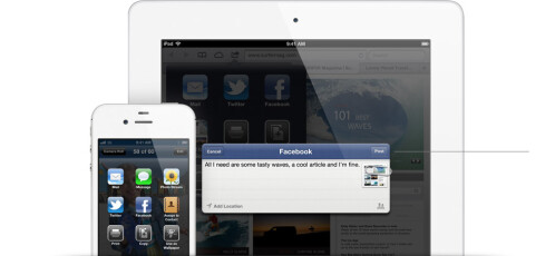 Facebook is baked into the notification center