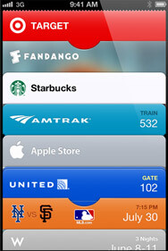 Passcode organizes your boarding passes, store cards