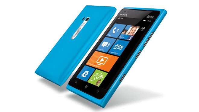 The flagship Nokia Lumia 900 - Microsoft thought about and then decided against Nokia acquisition