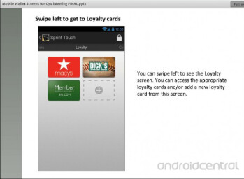 Sprint Touch is a competitor for Google Wallet and ISIS