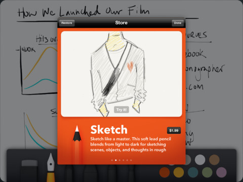 iPad Developer Showcase - Paper by FiftyThree