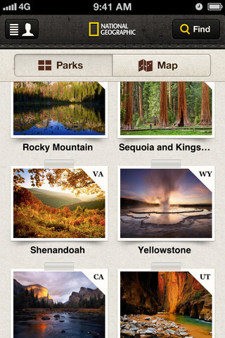 iPhone Developer Showcase - National Geographic's National Parks