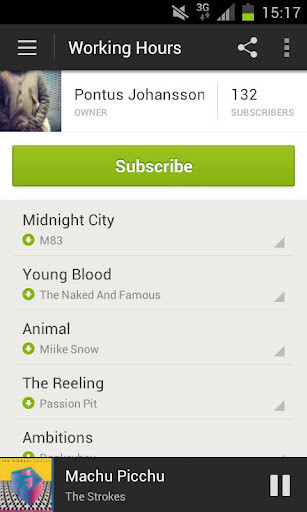 Spotify launches for Android ICS