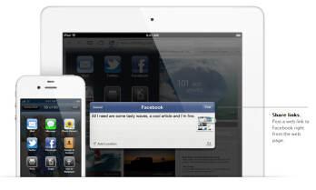 Facebook integration is a crowd pleaser in iOS 6