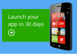 With Microsoft's help, you can launch an app in just 30 days