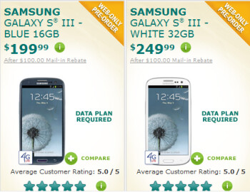 U.S. Cellular is taking reservations for the Samsung Galaxy S III