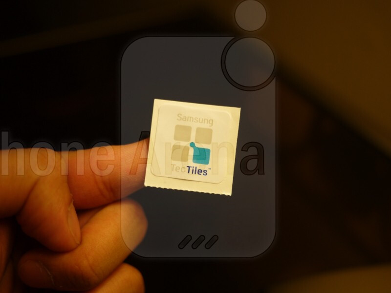 Samsung TecTiles aim to increase NFC usage by offering various personalized functions