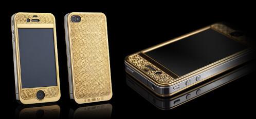 Goldgenie Suvarna Bullion iPhone 4S