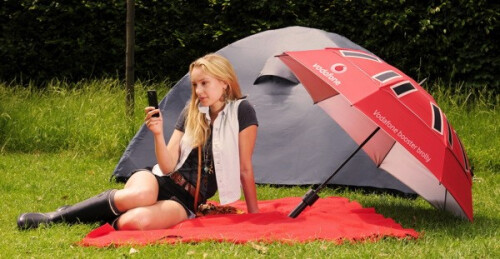 The Vodafone Booster Brolly