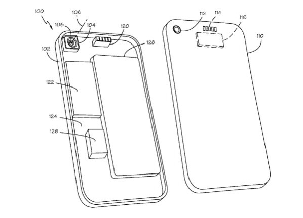apple files patent application for removable back covers