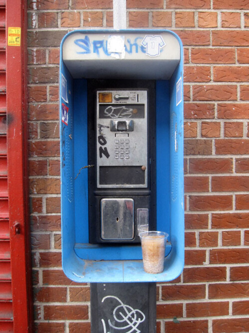 We used to rely on payphones to call home