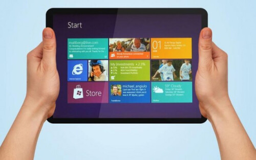 Announcing a Microsoft-branded iPad competitor