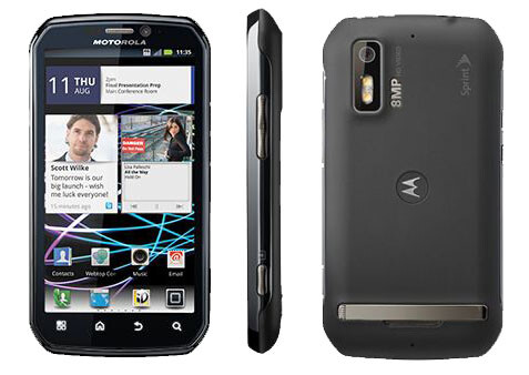 The Motorola PHOTON 4G - Leaked snapshot shows image of side-slidin' QWERTY by Motorola for Sprint