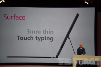 "Microsoft announces its Windows 8 powered ""Surface"" tablet"