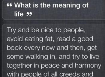 Siri is deep
