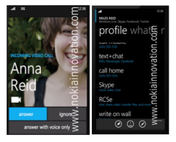 Alleged Windows Phone 8 screenshots hint at Skype integration