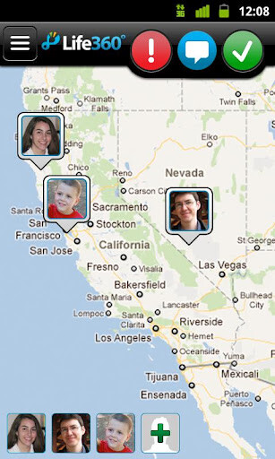 GPS Tracking by Life 360