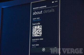 A Wallet feature that leverages NFC technology is included with Windows Phone 8