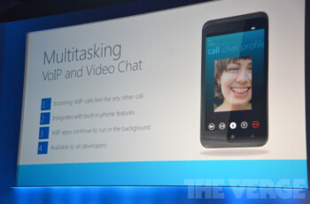 Windows Phone 8 will have Skype deeply integrated