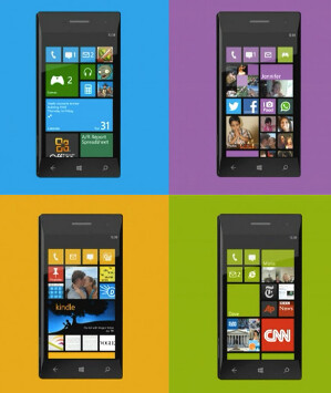 The coming look of Windows Phone 8