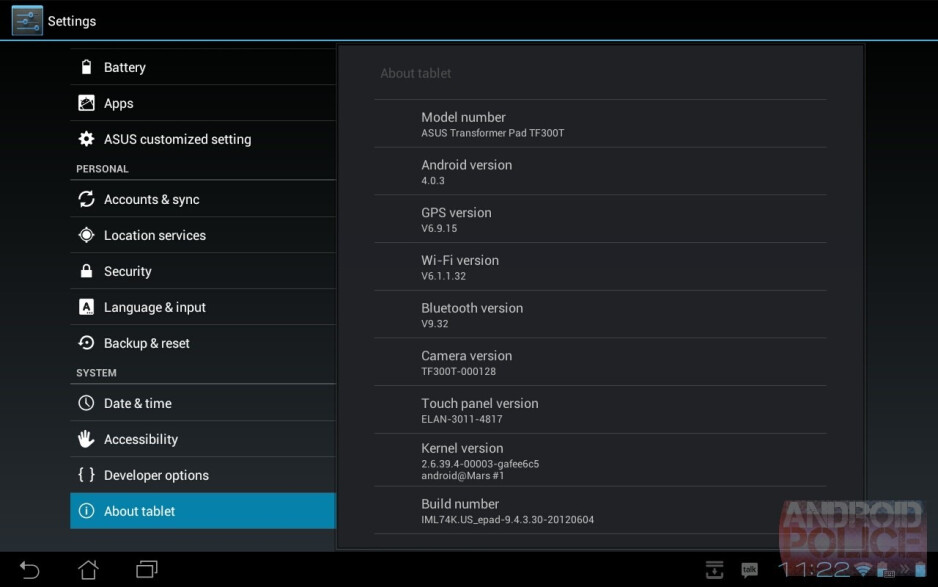 The ASUS Transformer Pad 300 is getting another update - ASUS Transformer Pad 300 gets updated again; firmware update focuses on the camera