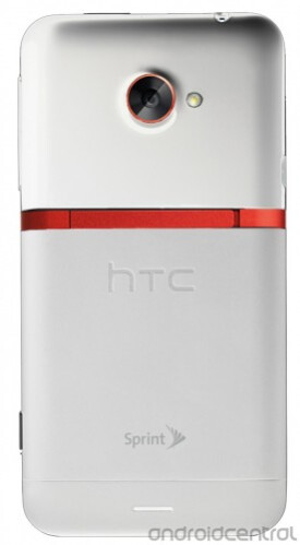 White HTC EVO 4G LTE (image courtesy of Android Central)