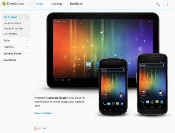 Google's Android developers website gets a redesign ahead of I/O