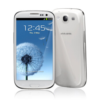 The Samsung Galaxy S III is sizzling hot in Europe