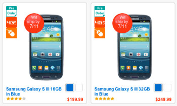 Verizon Samsung Galaxy S III pushed back by a day… again.
