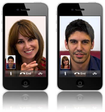 Until iOS 6 launches, iOS users need to be on Wi-Fi to use Face Time