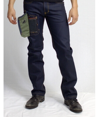The Delta415 Wearcom jeans are great for smartphone owners